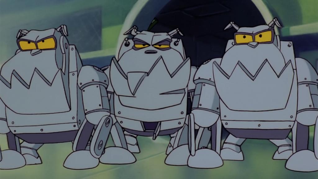 Роботы-бульдоги
