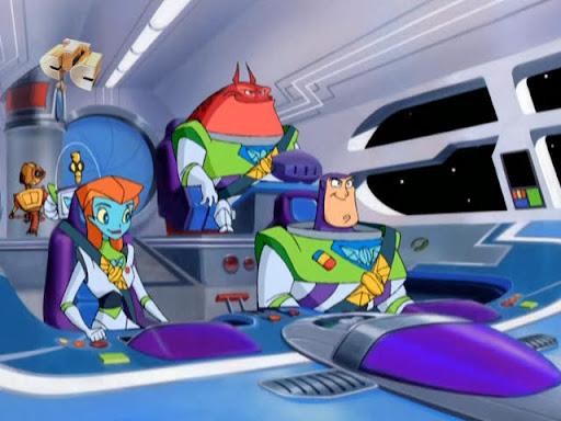 Список персонажей «Базза Лайтера из Звёздной Команды»: